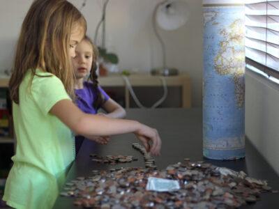 saving up money