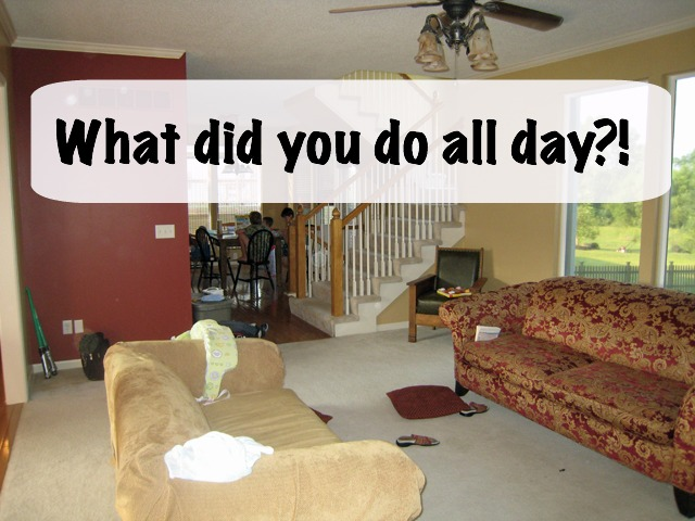 You've got a to-do list, right? And you're trying to be responsible with your home, work, and family. But inevitably something gets in the way. The day gets away from you and you wonder... what did you do all day?