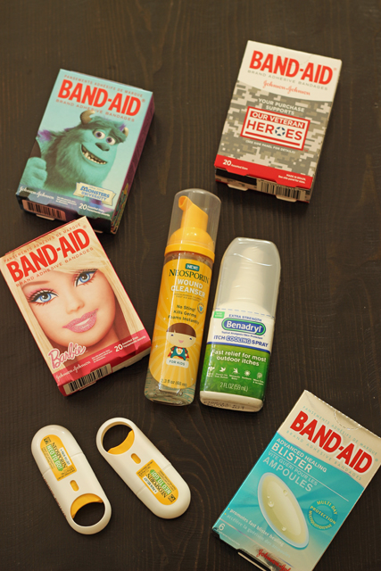 Packing a First Aid Kit for Day Trips with Kids