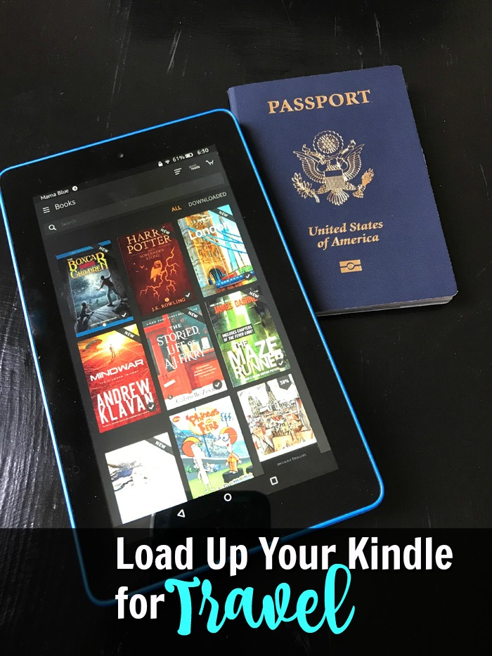 Load Up Your Kindle for Travel | Life as Mom