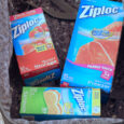 packing with ziptop bags