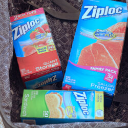 Packing Suitcases with The Ziploc System