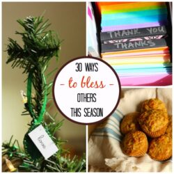30 Things You Can Do to Bless Others This Season