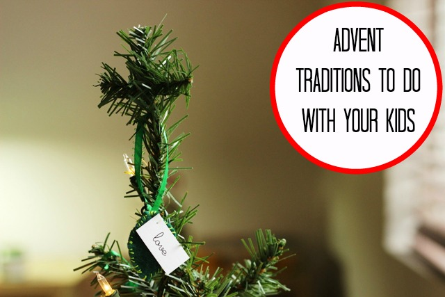 Advent Traditions for Kids - Advent is an excellent time to share with your kids the joy there is in Christ and how very much we need Him. See what these families do to observe Advent and countdown the days until Christmas.