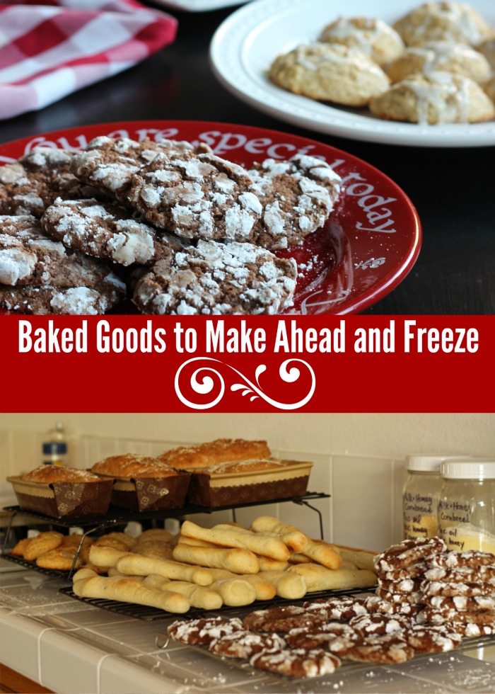 Baked Goods to Make Ahead and Freeze | Life as Mom