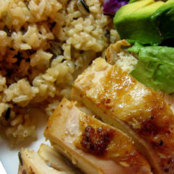 Chicken and Rice Bake one dish