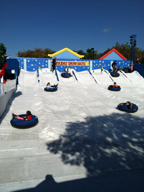 Holiday Snow Days at Legoland - Legoland has snow and skating available as part of their holiday festivities.  Plus, if you visit the park between now and January 4, 2015, you can get a free return ticket.