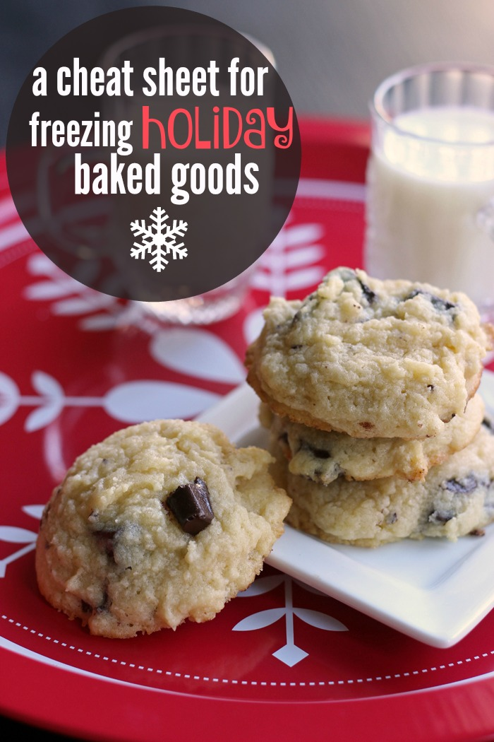 A Cheat Sheet for Freezing Holiday Baked Goods - Life as Mom