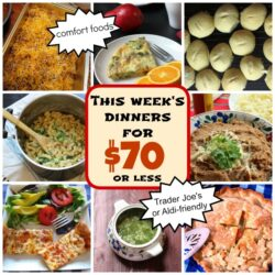 This Week's Dinners for $70 or Less: Comfort Foods