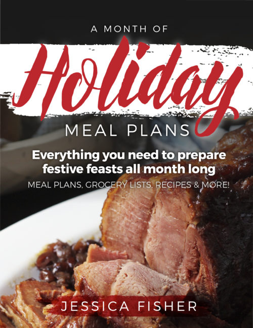 Make the Month Easier with This Holiday Meal Plan | Life as Mom