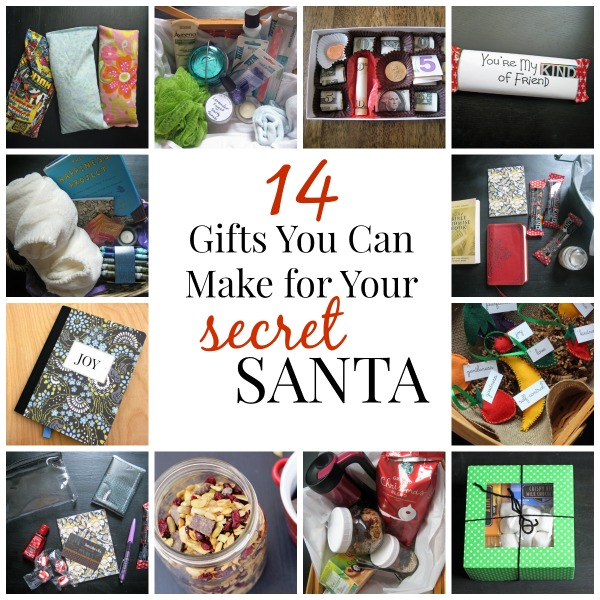 14 Gifts You Can Make for Your Secret Santa - Pull together one of these fun and frugal gifts for your next secret Santa event or other gift exchange.