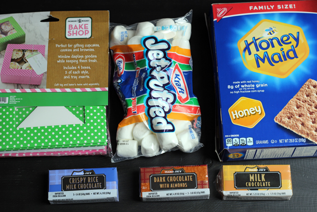 Make a S'mores Kit - Package up the ingredients for s'mores for a fun, frugal, and easy holiday gift.