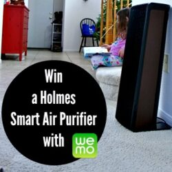 Win a Holmes Smart Air Purifier with WeMo (CLOSED)