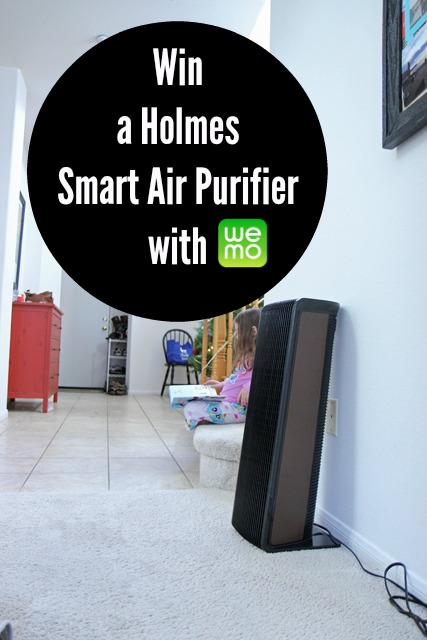 Win a Holmes Smart Air Purifier with WeMo