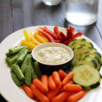 crudite and dip