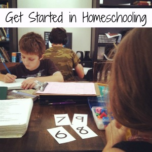 get started in homeschooling