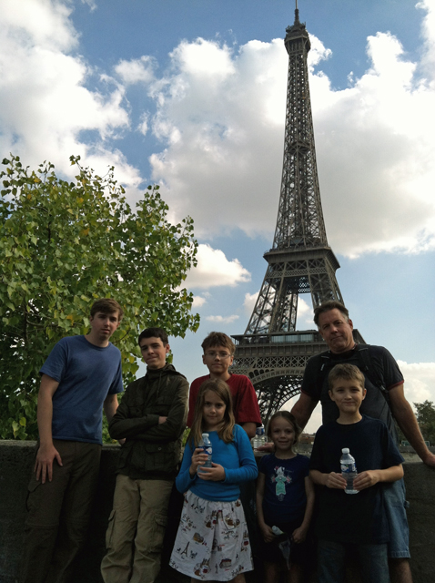 Our European Vacation: Paris with Kids
