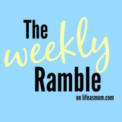 The Weekly Ramble: The Hyperthyroidism Edition