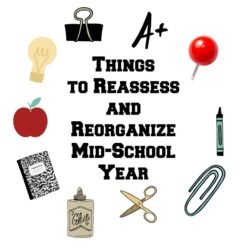 3 Things to Reassess and Reorganize Mid-School Year