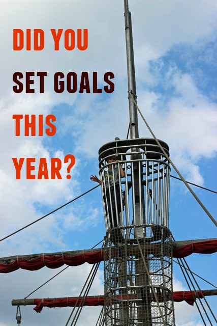 Did You Set Goals This Year? Have you set goals for the year yet? Better yet, do you have a vision for the life you want?
