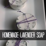 Make Lavender Soap Homemade