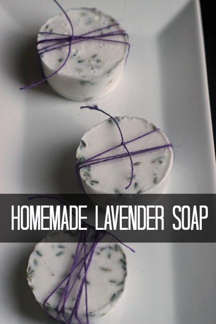 Make Lavender Soap Homemade