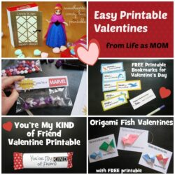 DIY Printable Valentines