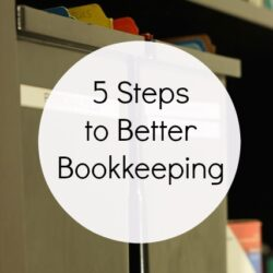 5 Steps to Better Bookkeeping