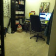 cleaned office