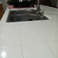 new kitchen tile and grout