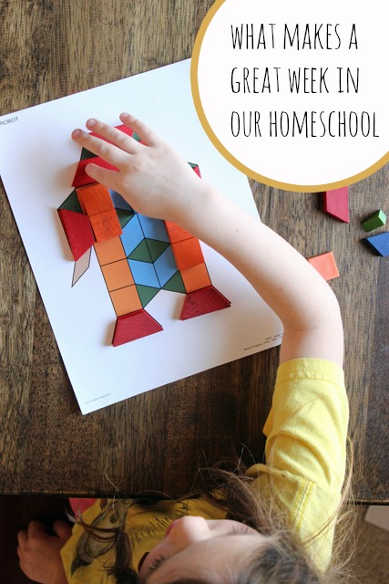 What Makes a Great Week in Our Homeschool | Life as MOM