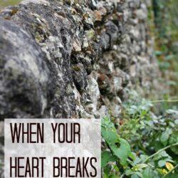 When Your Heart Breaks for a Friend