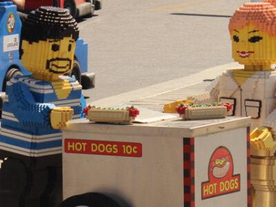 Legoland on a Budget food costs