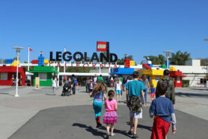 Legoland with the fishkids