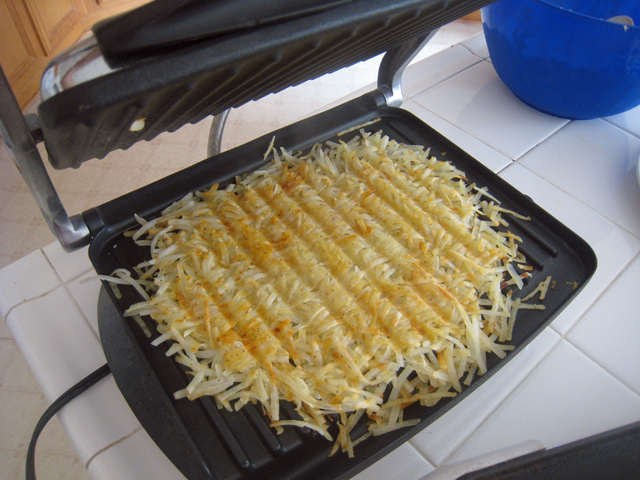 Fabulous Tips for Preparing a Full Breakfast (Panini Press Hashbrowns) &EC88