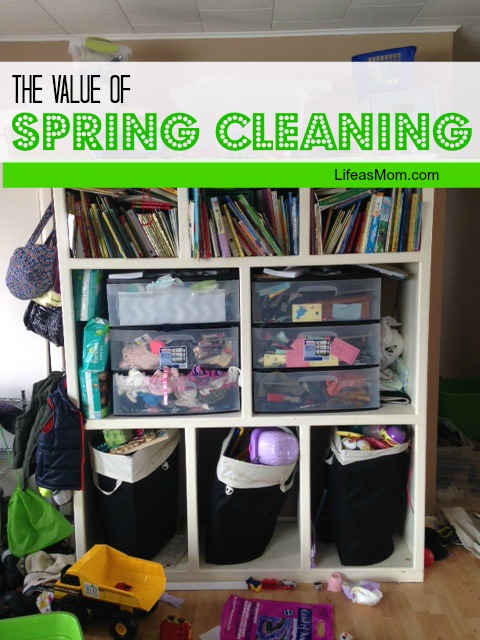 The Value of Spring Cleaning | Life as MOM