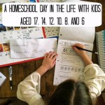 A Homeschool Day in the Life with Kids Aged 17, 14, 12, 10, 8, & 6 | Life as MOM