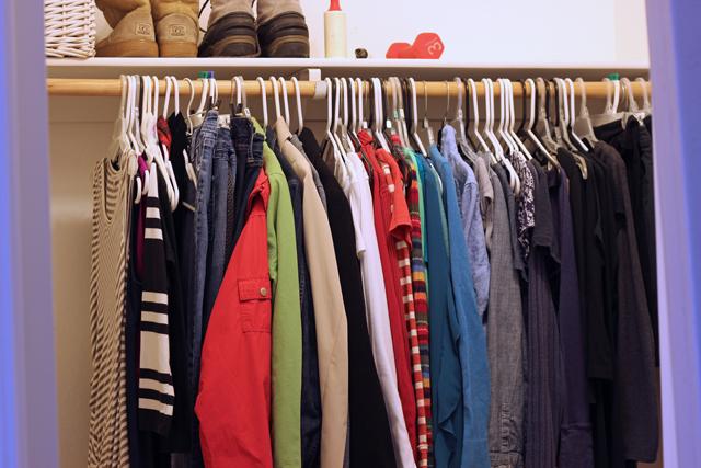 life-changing magic closet