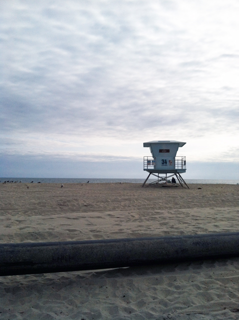 lifeguard tower beach