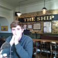 n at the ship