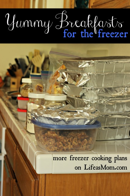 Freezer Cooking : Yummy Breakfasts for the Freezer