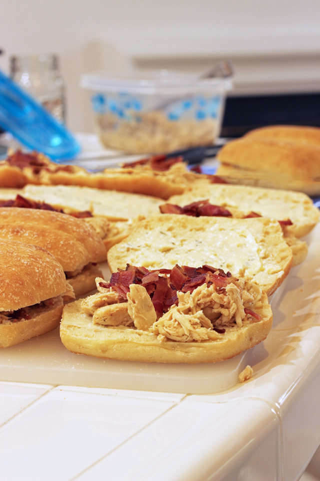 Chicken Bacon Subs