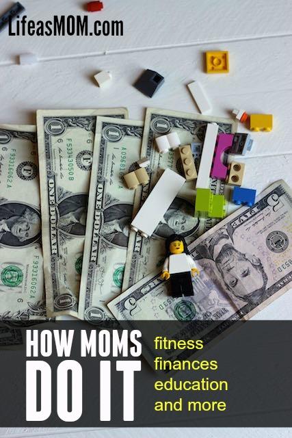 how moms do it finances