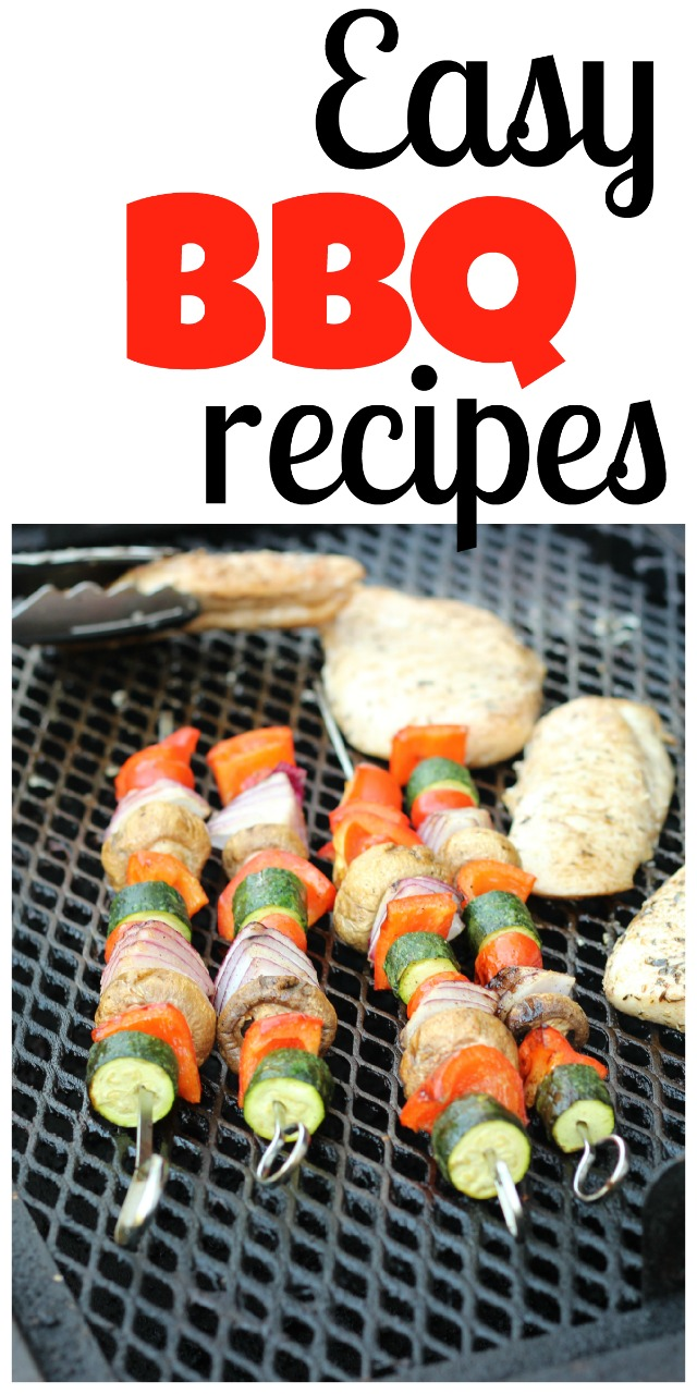 Easy BBQ Recipes | Life as MOM