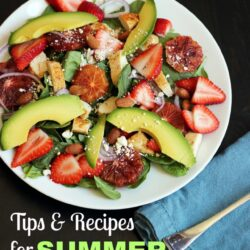 Tips & Recipes for Summer Freezer Meals