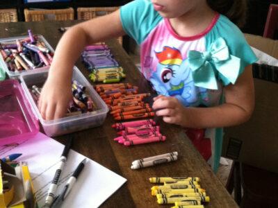 crayons for school
