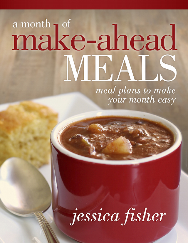 cover for make ahead meals