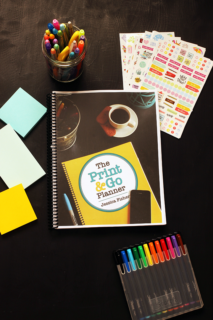 The Print & Go Planner – Track Your Days & Build a Better Life