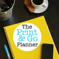 The Print & Go Planner