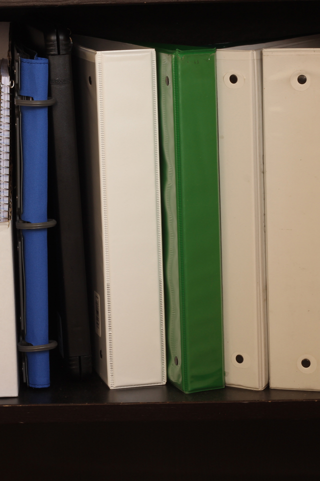 Homeschool Assignment Binders